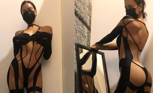 אירינה שייק בחוטיני (צילום: instagram)