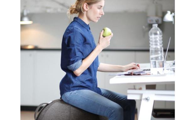 כדור ישיבה ארגונומי מעוצב  טופ קומרס (צילום: טופ קומרס)