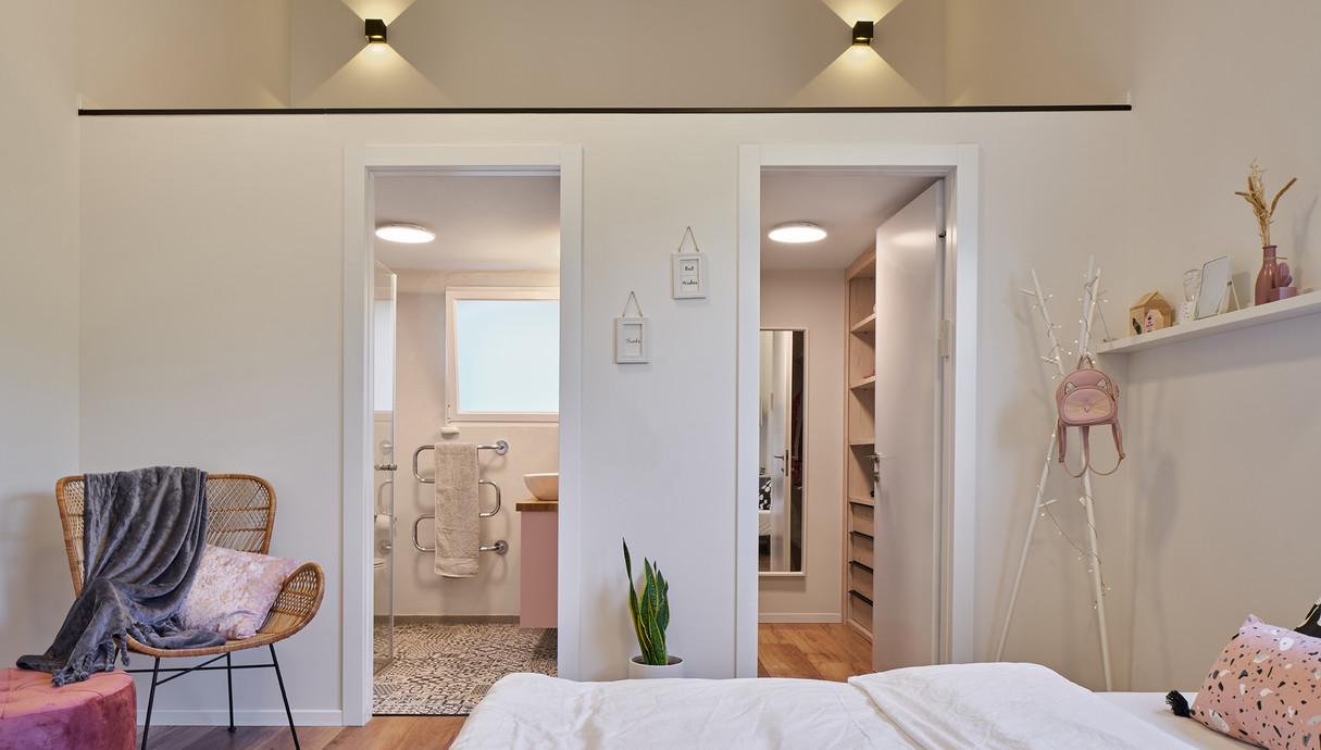 בית במושב בשפלה, עיצוב עדי ברעם, חדר הבת הצעירה - 2