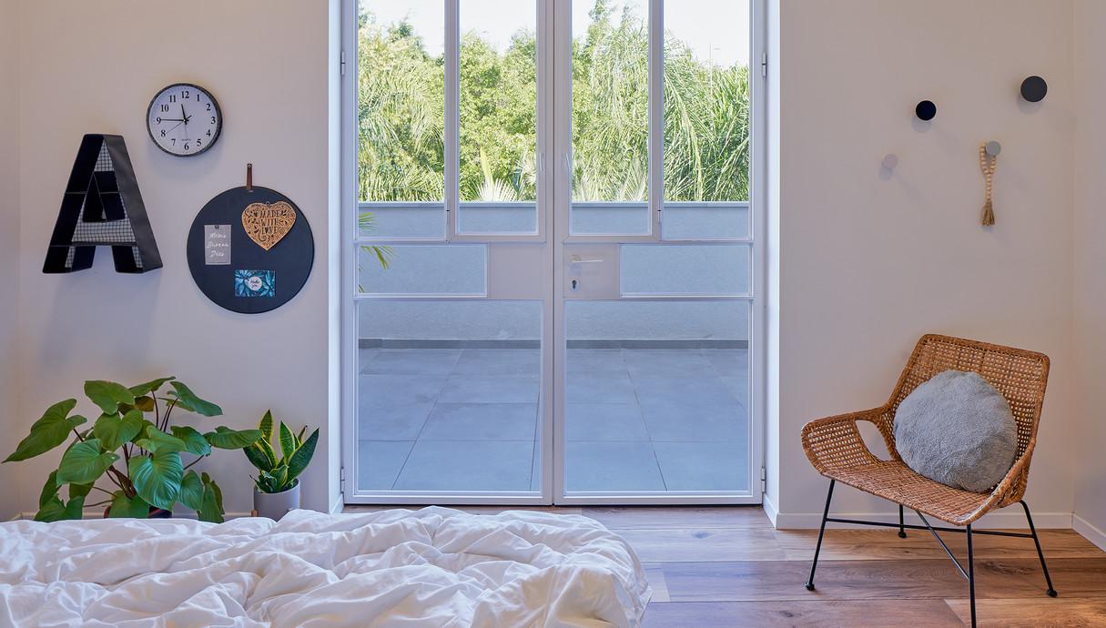 בית במושב בשפלה, עיצוב עדי ברעם, חדר הבן הבוגר - 2