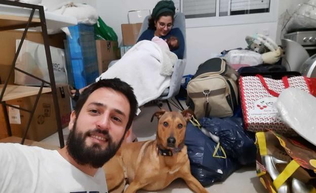 משפחת ביבר, רמת טראמפ (צילום: חדשות 12)