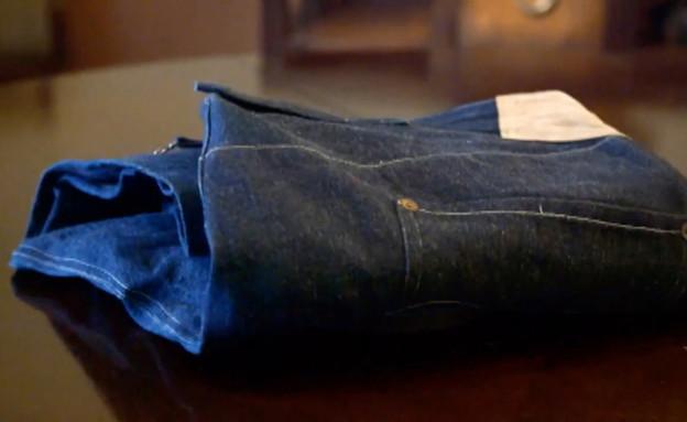 ג'ינס בני 124 שנים (צילום: Fox Business)