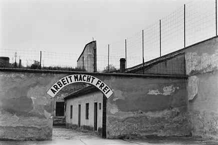 הכניסה למחנה טרייזנשטט בצ'כיה (Getty) (צילום: ספורט 5)