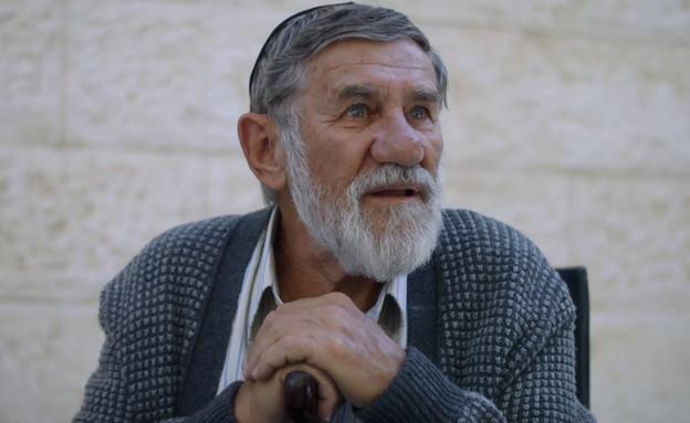 """אברהם סלקטר כהרב מנשה (צילום: מתוך """"ישמח חתני"""", קשת 12)"""