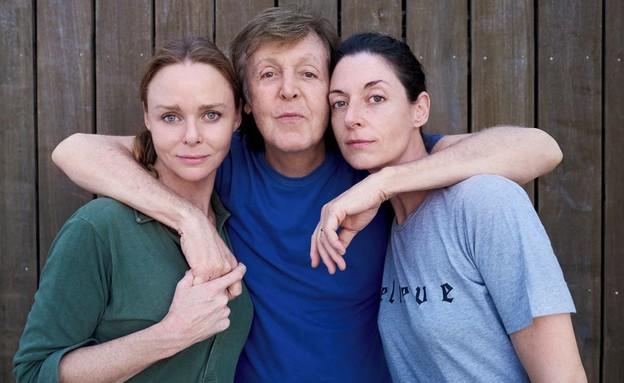 פול מקרטני ובנותיו (צילום: אינסטגרם, paulmccartney)