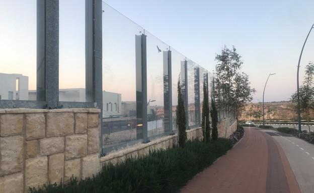 קיר אקוסטי (צילום: באדיבות יאיר לוי)