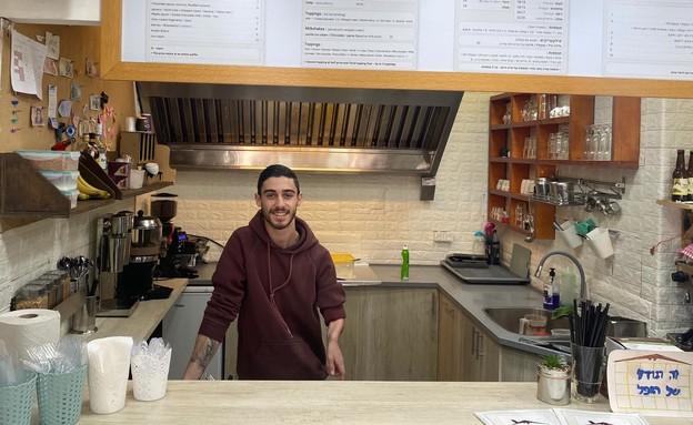 נועם סבגן, הבעלים של La Waffle (צילום: רון ירקוני, יחסי ציבור)