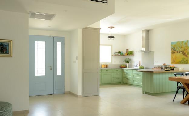 מטבח ירוק, עיצוב עדי מינץ - 1 (צילום: יפעת ירושלמי)