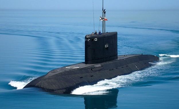 הצוללת (צילום: mil.ru)