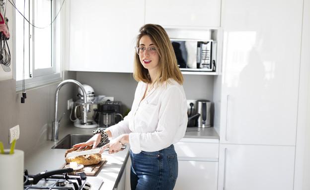 המטבח של בת-שי עוז (צילום: עופר חן)