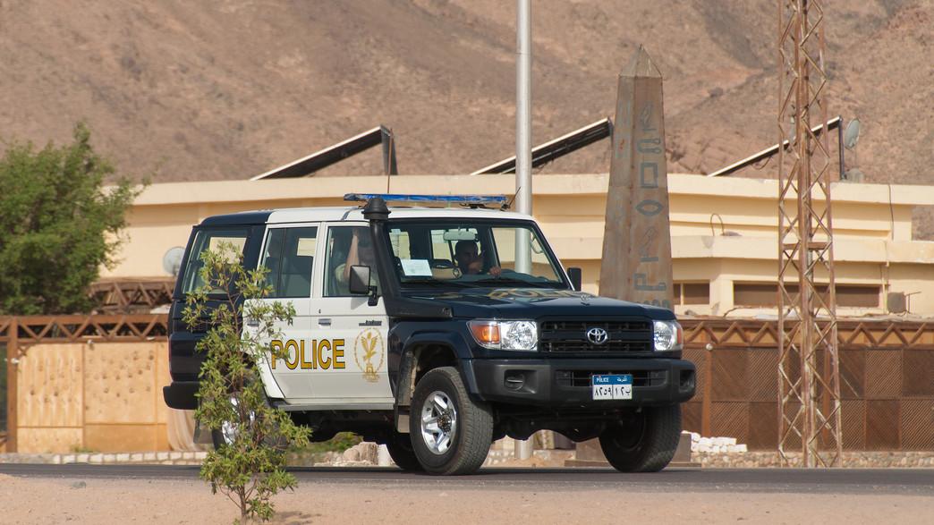 משטרה מצרית (צילום: shutterstock)
