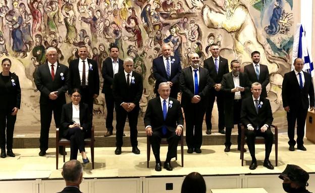 הכנסת ה 24 (צילום: Marc Israel Sellem/POOL, כנסת ישראל)