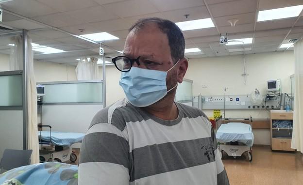 עופר כסיף בבית חולים
