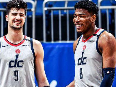 החיוך חזר (Washington Wizards) (צילום: ספורט 5)