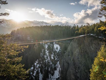 בגובה 130 מטר:  גשר גולדן סקייברידג' ייחנך בחודש הבא