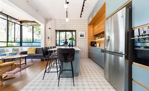 דירה בתל אביב, עיצוב שני רינג (צילום: אורית ארנון)
