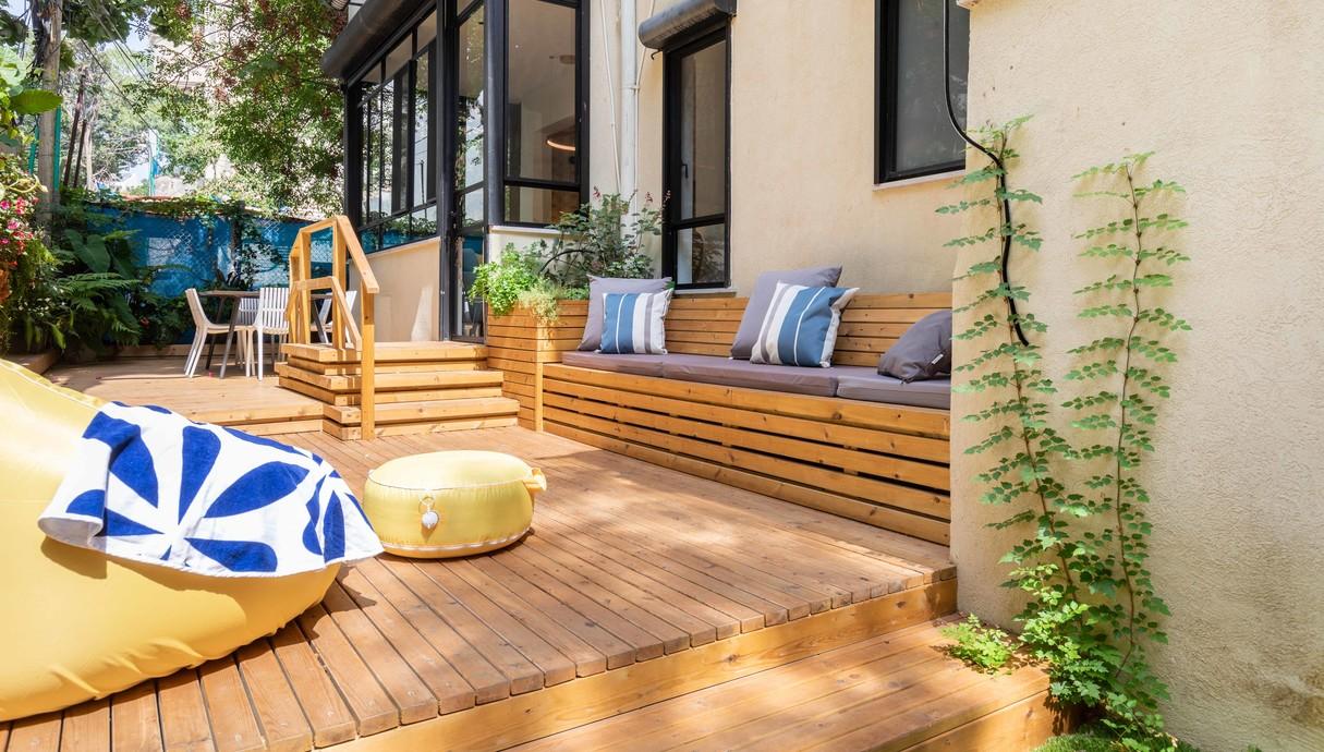 דירה בתל אביב, עיצוב שני רינג
