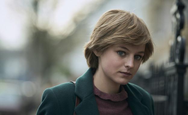 """אמה קורין, מתוך """"הכתר"""" (צילום: Des Willie/Netflix)"""