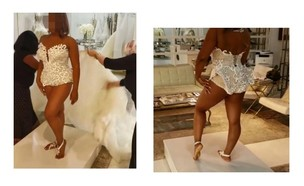 שמלת כלה נוצצת (צילום: facebook)