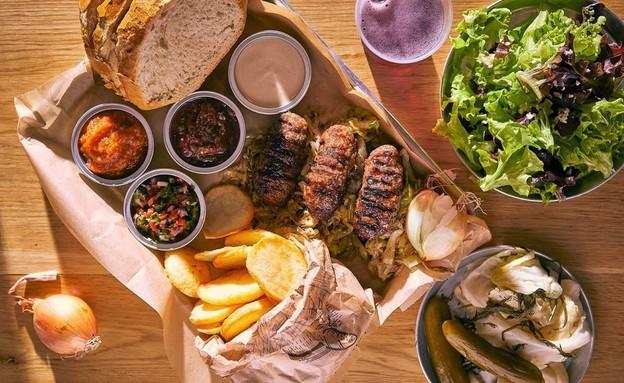 קבב רומני - מסעדת מיטש (צילום: אפיק גבאי)