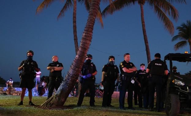 משטרת מיאמי (צילום:  Getty/ Joe Raedle)