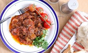 קציצות בשר ברוטב עגבניות שרי (צילום: בני גם זו לטובה, אוכל טוב)