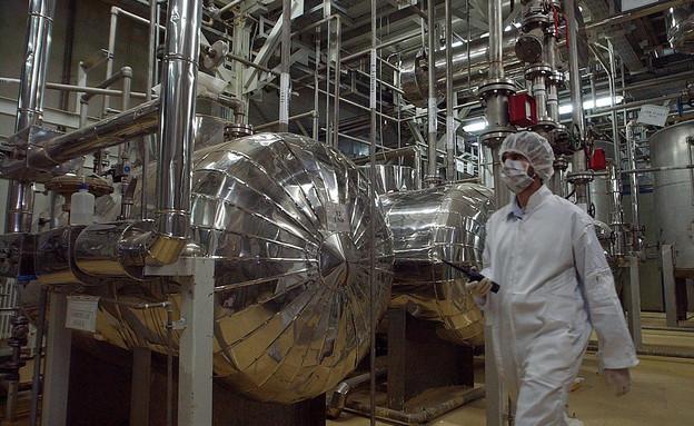 מתקן הגרעין בנתנז שבאירן, ארכיון (צילום: AP)