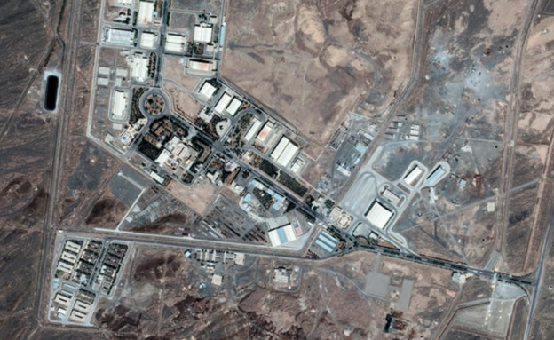 אתר הגרעין בנתנז (צילום: google earth)