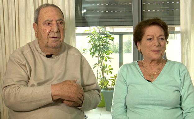 ראובן ומרלן כהן (צילום: החדשות 12)