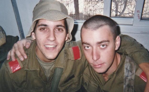 המג''ד וחברו שנפל (צילום: באדיבות המשפחה)