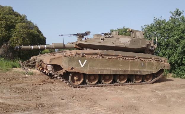 הטנק המתקדם בצה''ל (צילום: שי לוי)