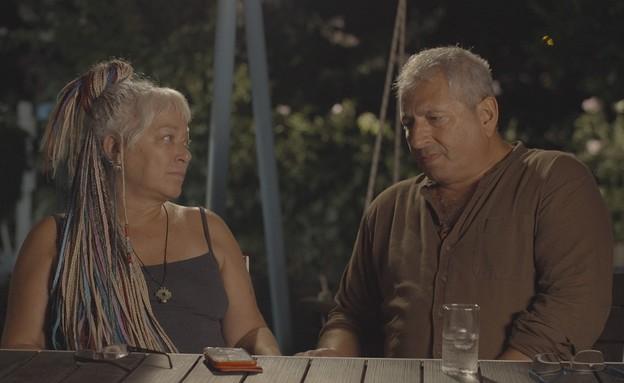 """אלי וגבריאלה שיר-פורמן, """"קרבות לילה"""" (צילום: כאן 11)"""