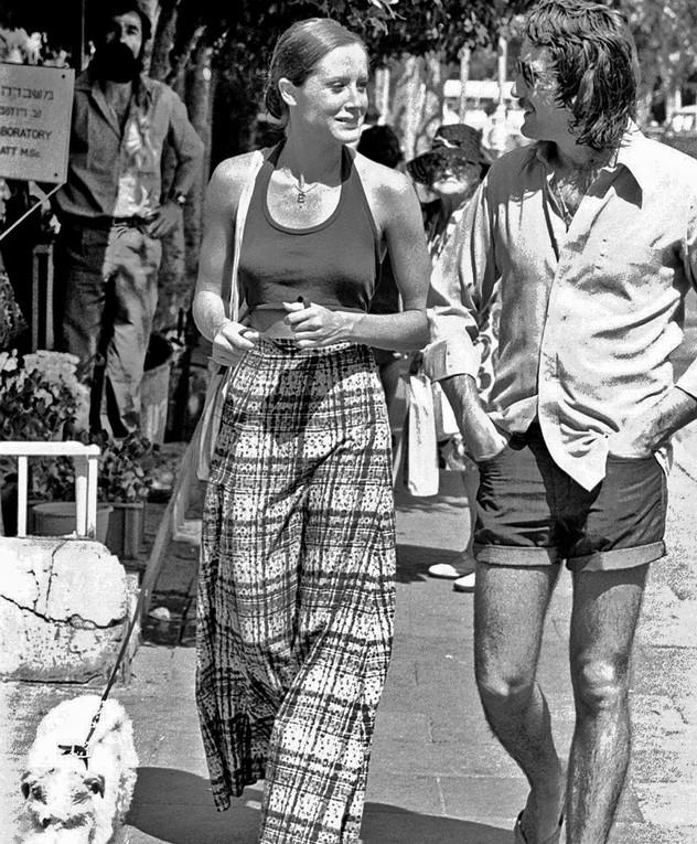 אופנת רחוב דיזנגוף קיץ 1975 אתי פלדמן