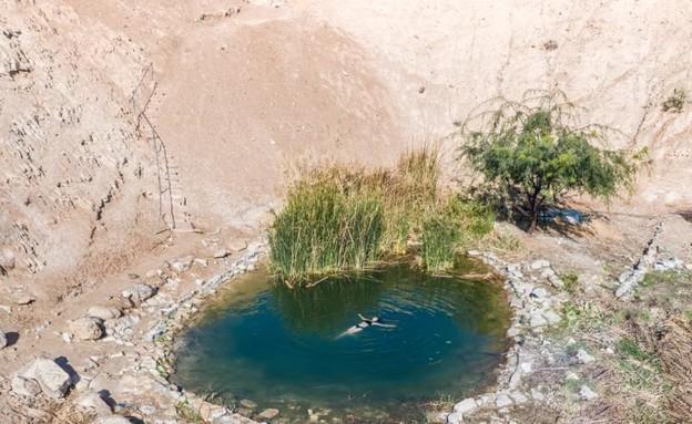אגם מצפה יריחו (צילום: גל טוויג)
