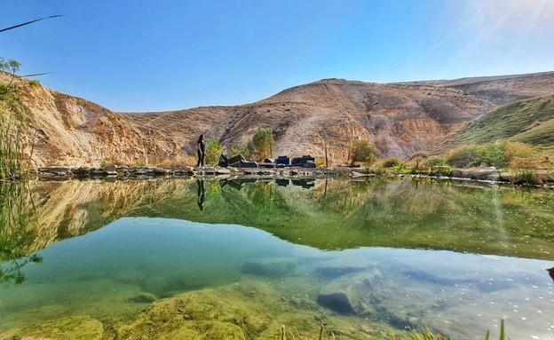 אגם מצפה יריחו (צילום: יפעת חן כהן)