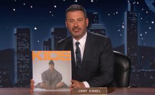 ג'ימי קימל מציג את האלבום של נגה ארז בתוכנית האירוח שלו (יח''צ: twitter)