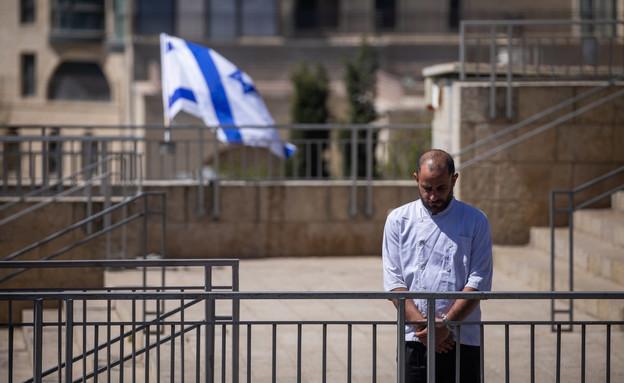 יום הזיכרון 2021, צפירה, יום הזיכרון לחללי מערכות ישראל (צילום: יונתן זינדל, פלאש 90)