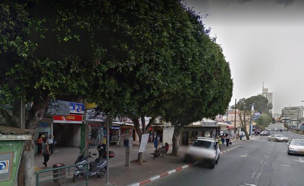 הרצל 73 ראשון לציון (צילום: google street view)