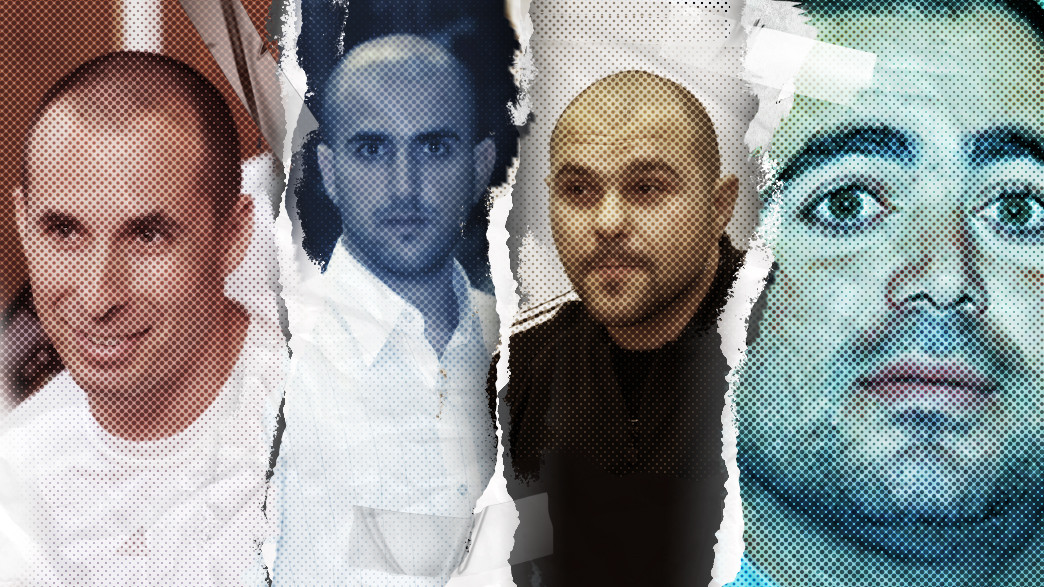 ניבי זגורי, עמיר מולנר, מיכאל מור, דרור אלפרון (צילום: Yossi Zeliger Flash90 | Flash90 | הרצל יוסף באדיבות ידיעות אחרונות, עיבוד: סטודיו מאקו)