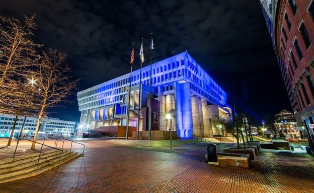 בניין עיריית בוסטון, מסצ׳וסטס (צילום: ארגון הקהילה הישראלית-אמריקאית IAC)