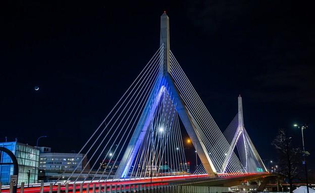 גשר לאונרד זקים בבוסטון, מסצ׳וסטס (צילום: ארגון הקהילה הישראלית-אמריקאית IAC)