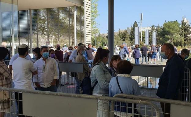 אלפי מבקרים הגיעו למוזיאון ישראל