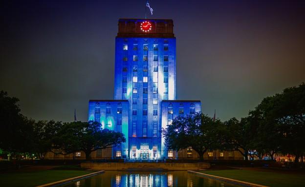 בניין עיריית יוסטון, טקסס. (צילום: ארגון הקהילה הישראלית-אמריקאית IAC)