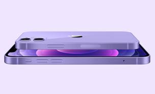 Apple iPhone 12 purple (צילום: Apple.com)