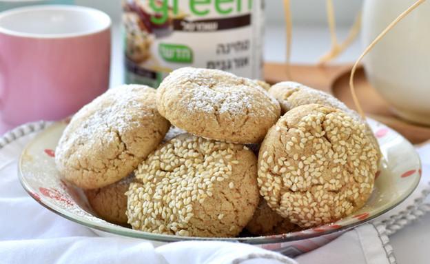 עוגיות טחינה נמסות (צילום: דפני פתיחה)