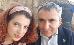 זאב ומריה אלקין (צילום: פרטי)