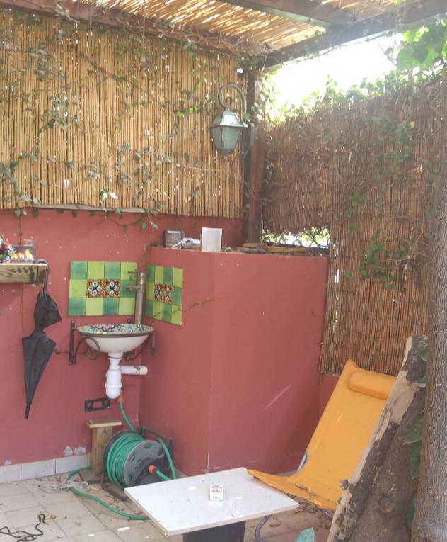 בית בתל אביב, עיצוב פזית שביט, לפני שיפוץ