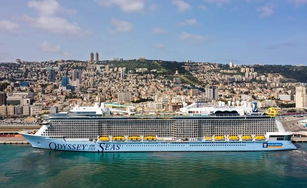 odyssey of the seas (צילום: נמל חיפה)