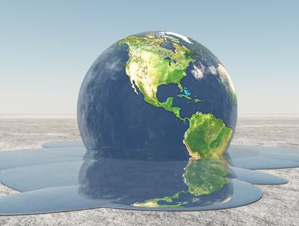 כדור הארץ נמס (צילום: Bruce Rolff, shutterstock)