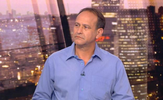 """איתמר גרף, סמנכ""""ל ומ""""מ ראש אגף השיקום במשרד הביטחו (צילום: חדשות 12)"""